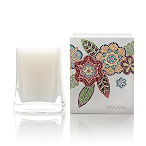 Mosaiq Highly Fragranced Candle Wild Spearmint Bush