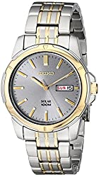 Seiko Men's SNE098 Two-Tone Stainless Steel Watch