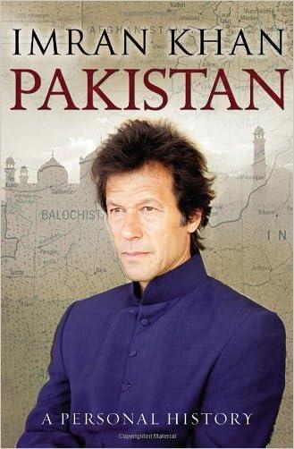 Pakistan: A Personal History written by Imran Khan