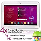 Matricom® G-Tab Quantum 10 Android 4.2 HD+ IPS Quad Core Tablet PC (10.1-Inch IPS
