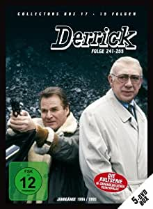 Derrick Collector's Box 17 (5 DVD/Ep.241 255) [Import anglais]: DVD