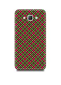 Plaid Samsung A3 Case