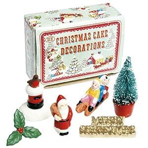Cake Decorations Christmas Uk : Vintage Christmas Cake Decorations: Amazon.co.uk: Kitchen ...