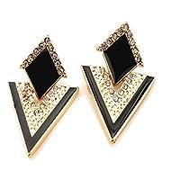 Vintage Romantic Trendy Black 19 Likes Women Earring JewelleryALEA0100KA