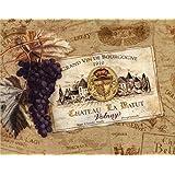 Chateau la Batut Poster Print par Pamela Gladding (14 x 11)