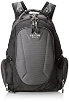 TETON Sports Professional Tech Backpack, Silver and Black
