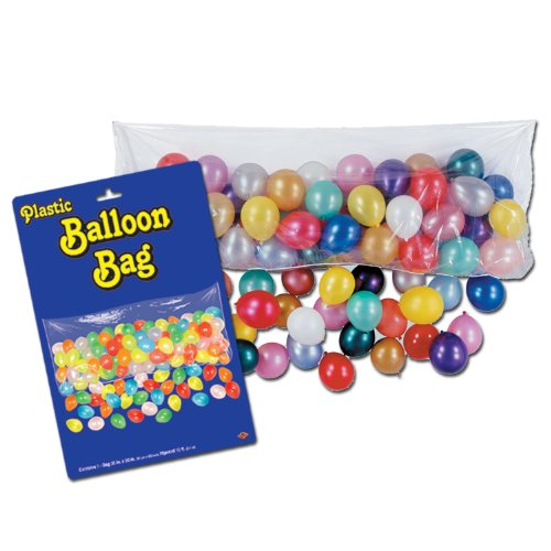 Plastic Balloon Bag (bag only) Party Accessory  (1 count)