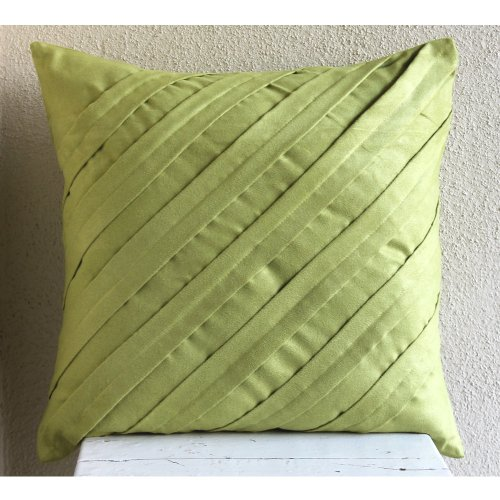 Inexpensive Decorative Pillow Covers : 10% Holiday Discount ? Contemporary Apple Green ? 26?26 Inches Euro Sham Decorative Pillow ...