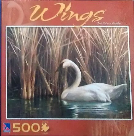 Joni Johnson-Godsy Wings 500pc puzzle: The Swan - 1