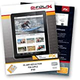 atFoliX Displayschutzfolie fr Apple iPad - FX-Antireflex: Display Schutzfolie antireflektierend! Hchste Qualitt - Made in Germany!von &#34;Displayschutz@FoliX&#34;