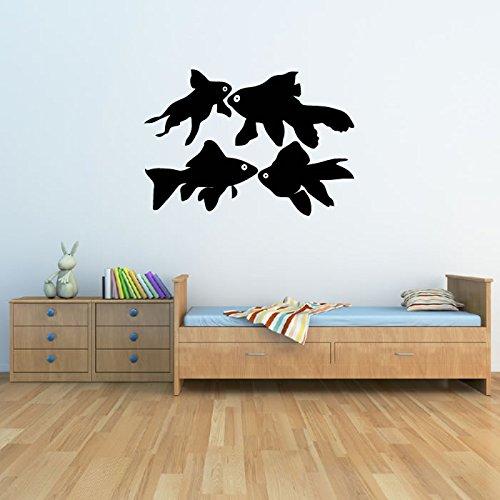 goldfish-set-wall-sticker-animale-adesivo-art-disponibile-in-5-dimensioni-e-25-colori-extra-small-ba
