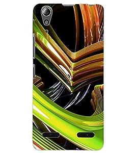 ColourCraft Abstract Image Design Back Case Cover for LENOVO A6000 PLUS