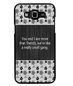 Printvisa 2D Printed Quotes Designer back case cover for Grand 3 - D4277