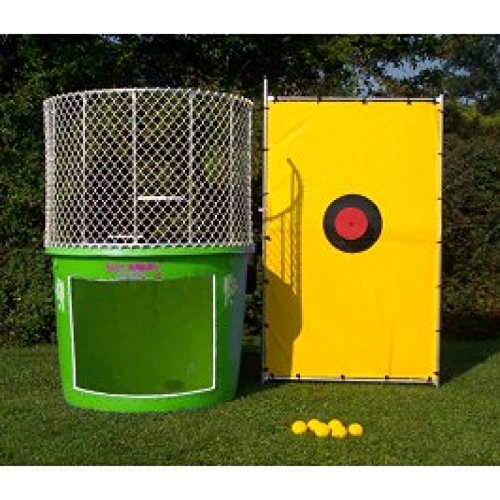 Green Used Dunk Tank 500 Gallon 250lb Weight Limit