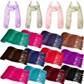 Ladies Soft Plain Viscose Pashmina Scarf Shawl Wrap Stole Womens All Colours