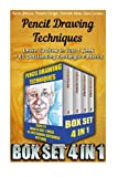 img - for Pencil Drawing Techniques BOX SET 4 IN: Learn To Draw In Just 1 week + 83 Outstanding Zentangle Patterns: (WITH PICTURES, 83 Outstanding Zentangle ... How To Draw: Zentangle Basics) (Volume 7) book / textbook / text book