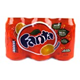 Fanta Orange 6 x 330ml 1980g