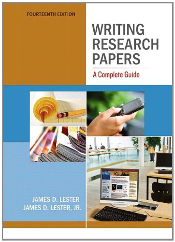 writing research papers a complete guide 14th edition ebook