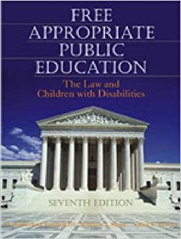 the free appropriate public education law essay