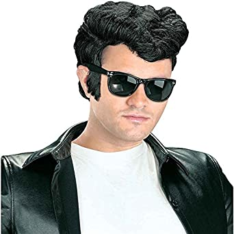 Greaser Wig Costume Accessory