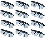 12 Schutzbrillen Brille Seitenschutz...