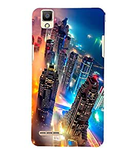 PRINTSHOPPII BUILDING Back Case Cover for OPPO Global OPPO F1 Selfie Expert