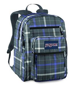 JanSport Big Student Classics Series Daypack (Forge Grey London Plaid)