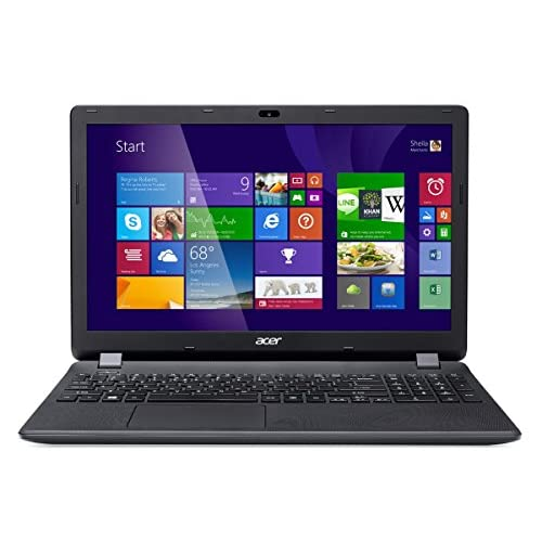 Acer Aspire ES1 15.6-Inch Notebook (Black) - (Intel Celeron N2840 2.16 GHz, 4 GB RAM, 1 TB HDD, DVDRW, LAN, WLAN...