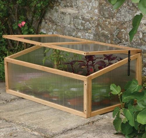 SOLID ACACIA HARDWOOD COLD FRAME