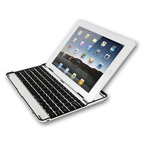 Sharon iPad2 Case mit integrierter Bluetooth Tastatur (englisches Layout)