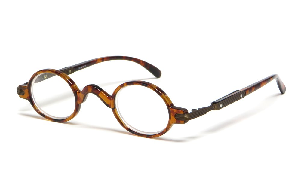 Calabria R314 Vintage Professor Oval Reading Glasses Incredibly Lightweight 0