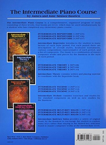 WP109 - Bastien Intermediate Piano Course Intermediate Theory 2
