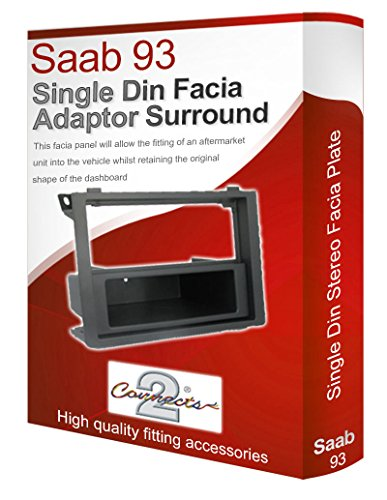 saab-9-3-pannello-mascherina-autoradio-stereo-radio-adattatore-finiture-cd-singolo-surround