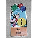 Walt Disney Poster Mickey Mouse Minnie Mouse Kite Flight MCMLXXIX Decor Teach