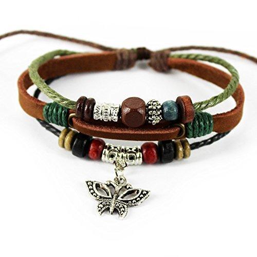 noviembre-de-chopin-tm-mariposa-colgante-electrosmart-lucky-tribal-ajustable-piel-wrap-pulsera