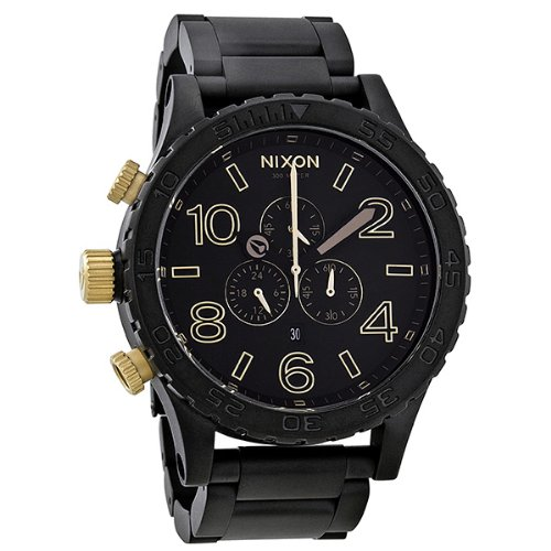 Nixon Unisex A0831041 51-30 Chronograph Matte Black Watch