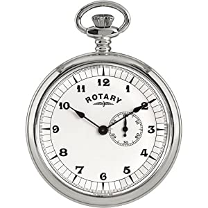 Rotary Gents Silver Pocket MP00730/18