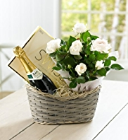 Luxury Champagne & Vanilla Rose Hamper