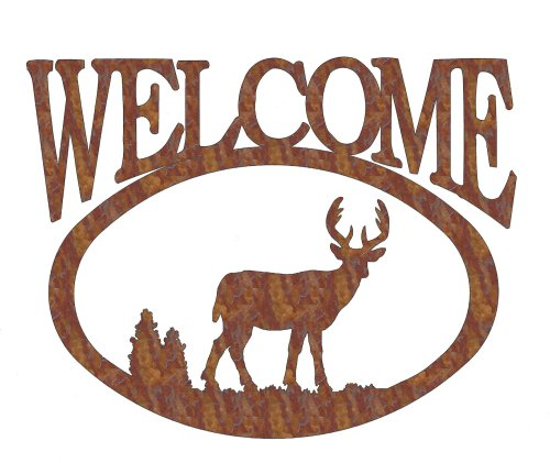 Deer Welcome Sign