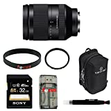 Sony-FE-24-240mm-f35-63-OSS-Full-frame-E-mount-Telephoto-Zoom-Lens-with-Tamrac-Arc-Lens-Case-13-Black-and-Acessory-Bundle