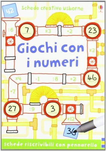 Giochi con i numeri (Schede creative)
