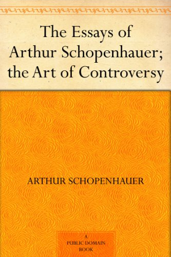 essays and aphorisms schopenhauer ebook Essays and aphorisms (arthur schopenhauer) at booksamillioncom one of the greatest philosophers of the nineteenth century, schopenhauer (1788--1860) believed that.