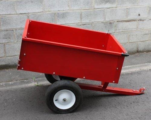 scanner remorque lawnboss 2040d en acier peint pour tracteurs tondeuses autoport e peut. Black Bedroom Furniture Sets. Home Design Ideas
