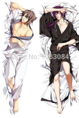 Personalized pillowcase Hakuoki Okita Soji MaleDakimakura Hugging Body Pillow Cover Case (What Type Of Anim compare prices)