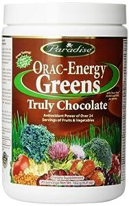 Paradise Herbs Oraac Energy Truly Powder, Chocolate, 182 Gram