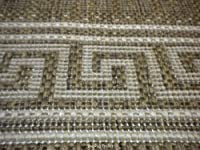 Fashionable Flatweave Hall Runner Lorenzo Natural Rug 60cm x 230cm
