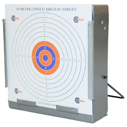 Steel Air Rifle Target Holder Pellet Catcher Trap 14x14 cm Shooting BB Airsoft
