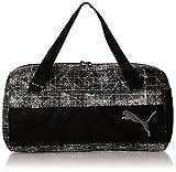 Puma Sac de sport de Sport Fundamentals II, Puma Black/Puma White/Distressed, 27,4x 11,6x 27cm, 33L, 07375710...