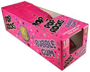 Pop Rocks Bubble Gum 18 Pack