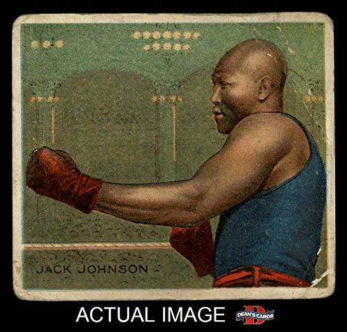 1910 T218 Champions # 118 SID Jack Johnson (Baseball Card) (Side View) Dean's Cards 1.5 - FAIR